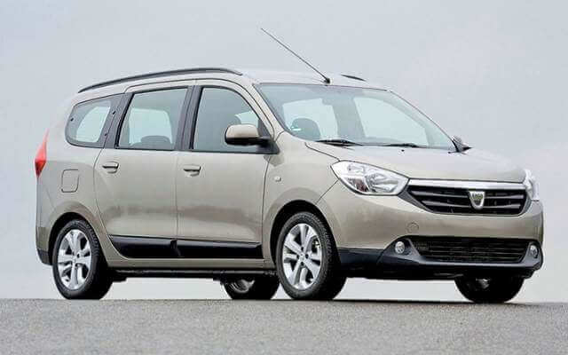 Dacia Lodgy - wypożyczalnia samochodów ekaRent Gdańsk