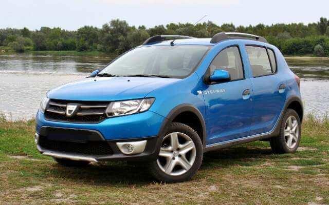 Dacia Sandero Stepway II - wypożyczalnia samochodów ekaRent Gdańsk